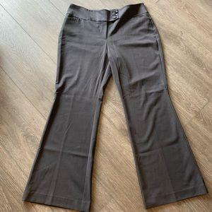Ann Taylor dress pants slacks curvy size 12 gray